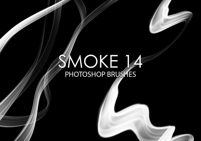 Gratis Smoke Photoshop Borstar 14