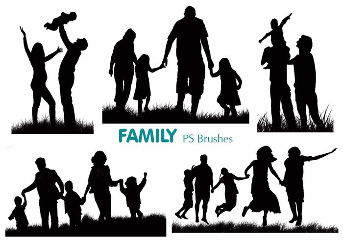 20 Family Silhouette PS escova abr.vol.2