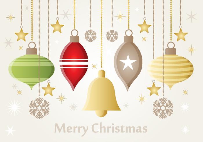 Kerstmis PSD Ornamenten