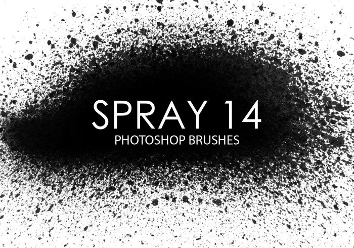 Escovas gratuitas do photoshop spray 12