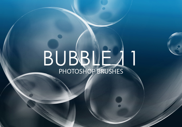 Gratis Bubble Photoshop Borstar 11