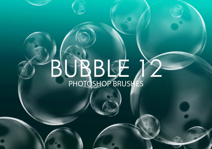 Free Bubble Pinceles para Photoshop 12