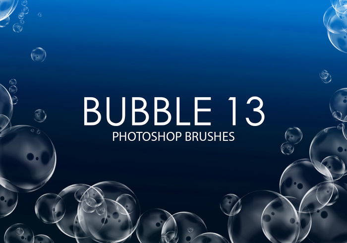 Brosses gratuites photoshop Bubble 13