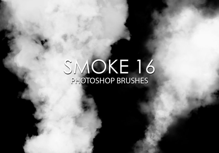 Gratis Smoke Photoshop Borstar 16