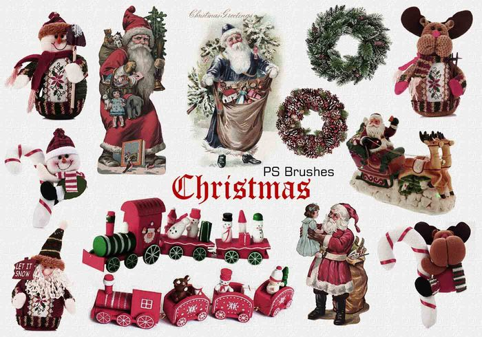 20 Christmas PS Brushes abr. Vol.4