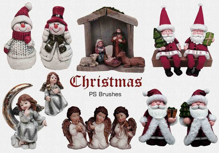 20 Christmas PS Brushes abr. Vol.6