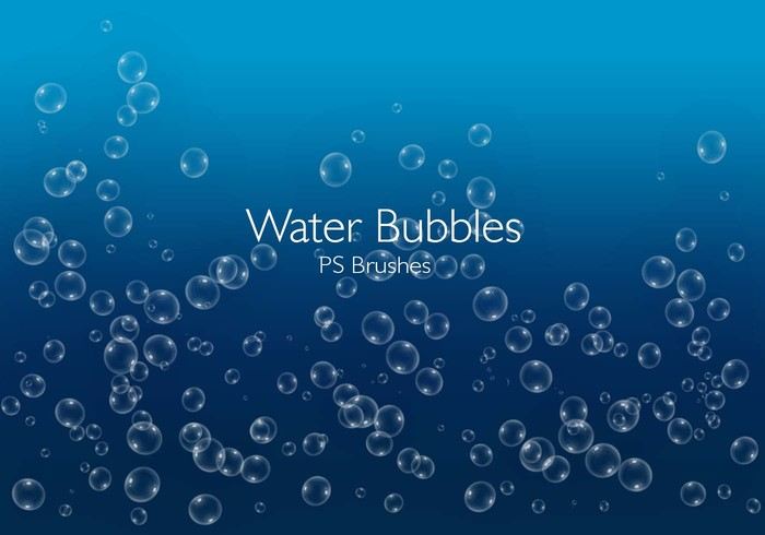20 Water Bubbles PS Brushes abr.Vol.6