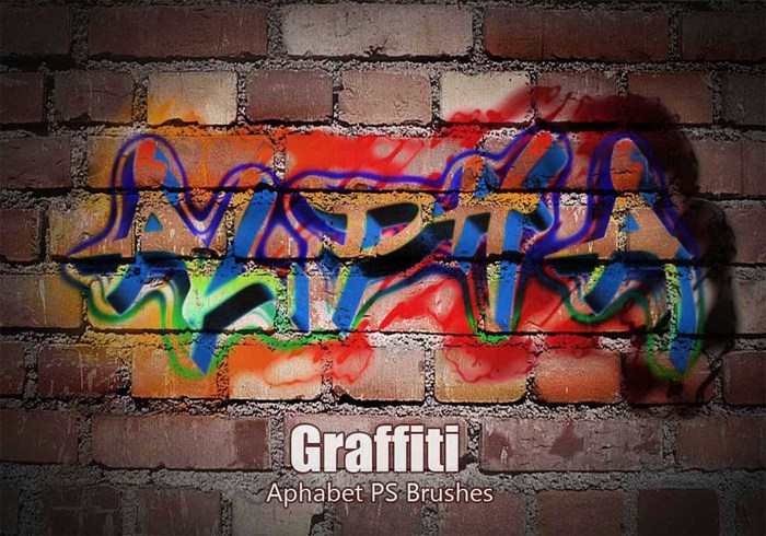 20 Aphabet Graffiti PS Borstels abr. vol.3