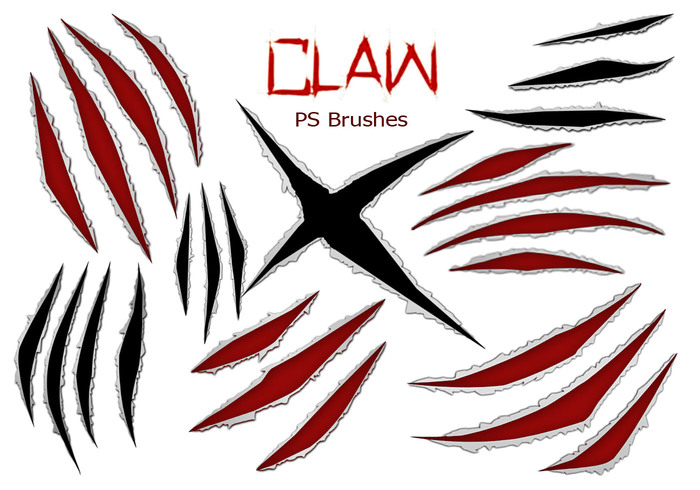 20 Claw Scratch PS Brosses ABR. Vol.7