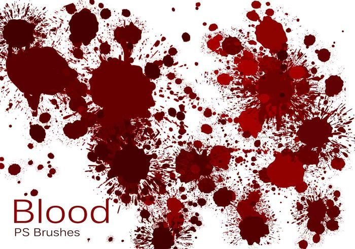 20 Blood Splatter PS Pinceles abr vol.4