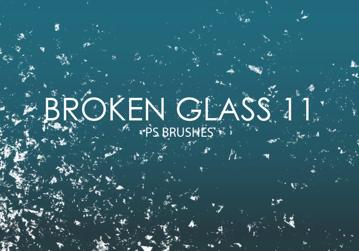 Free Broken Glass Photoshop Brushes 11