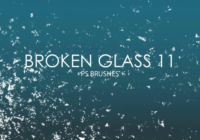 Free Broken Glass Photoshop Bürsten 11