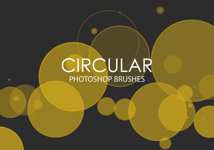 Gratis Circulaire Photoshop Borstels