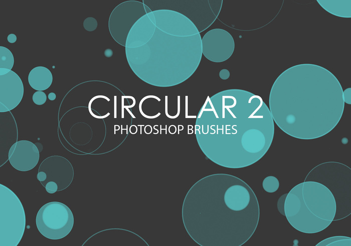 Libre Circular Photoshop Brushes 2