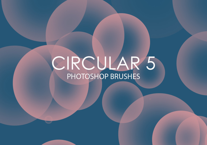 Libre Circular Photoshop Brushes 5