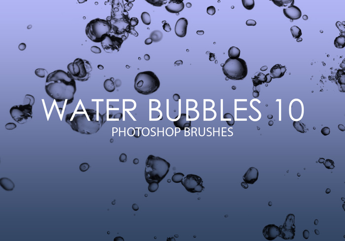 Gratis Waterbellen Photoshop Borstels 10
