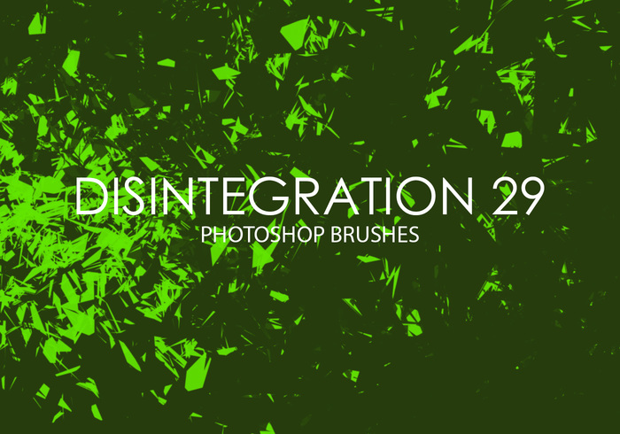 Free Disintegration Photoshop Brushes 29