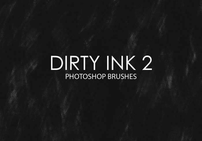 Gratis Dirty Ink Photoshop Brushes 2