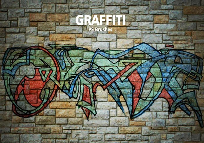 20 Graffiti PS Bürsten abr. Vol. 6