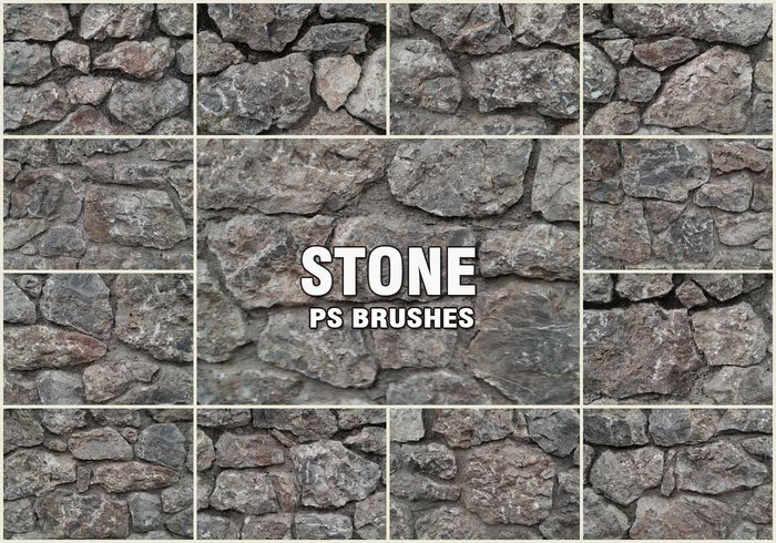20 Stone PS Brushes abr. Vol.2