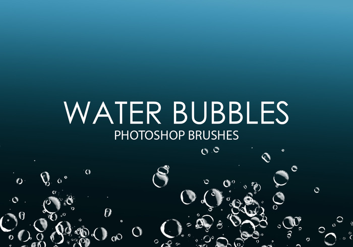 Free Water Bubbles Photoshop Bürsten