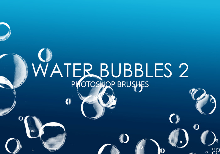 Free Water Bubbles Photoshop Brushes 2