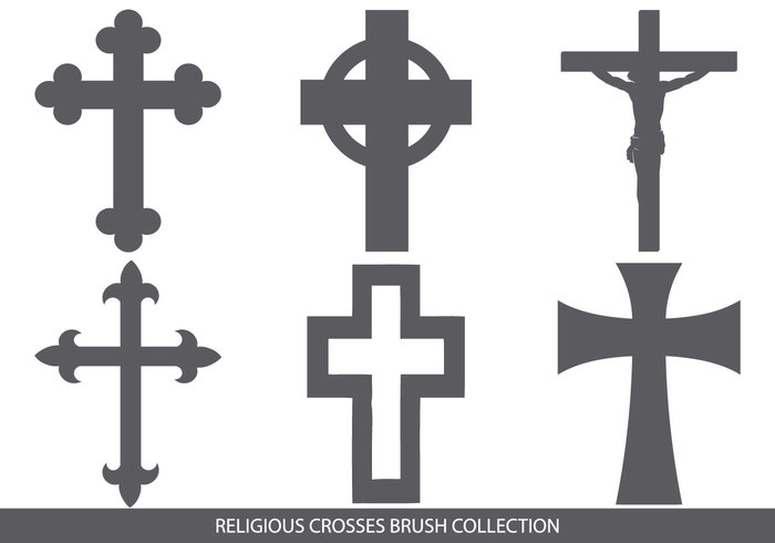 Religious Cross Brush Collection