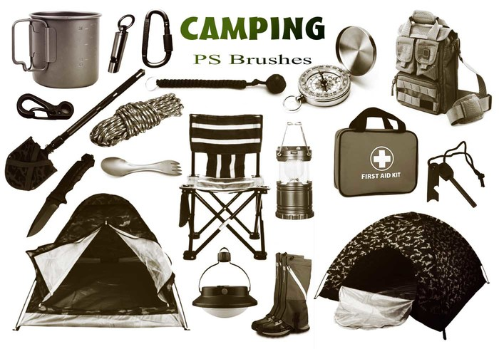 20 Camping PS Bürsten abr. Vol. 5