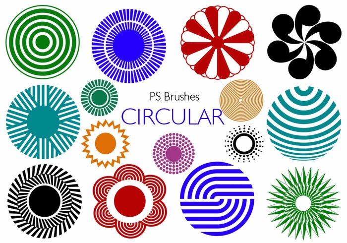 20 Circular PS Brushes abr. Vol.6