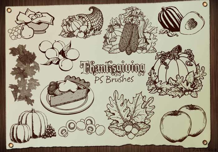 20 Thanksgiving PS Pensels abr. Vol.4