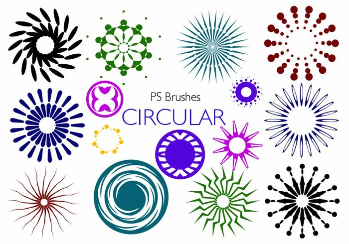 20 Circular PS Brushes abr. Vol.7
