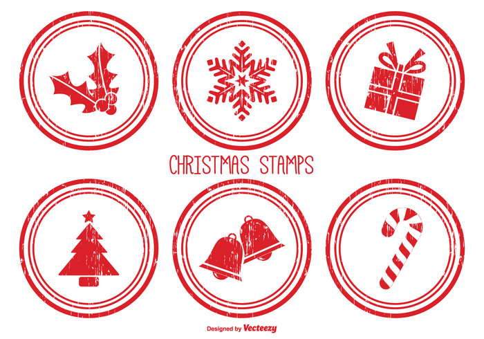 christmas stamp brushes - Christmas Stamp