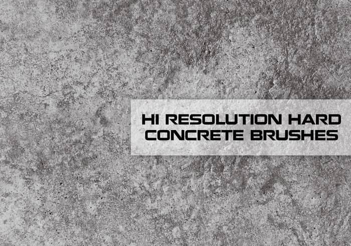 Hi Res Concrete Texture Brushes