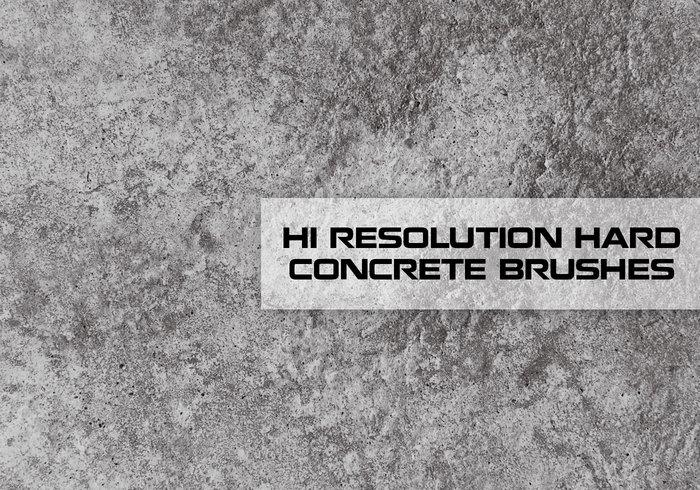 Hallo Res konkrete Textur Pinsel