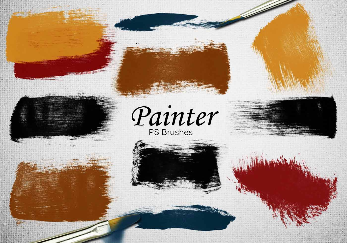 Oil Painting Free Brushes - (792 Free Downloads)