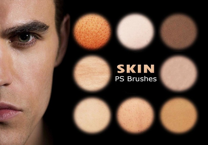 20 Human Skin PS Brushes abr. Vol. 5