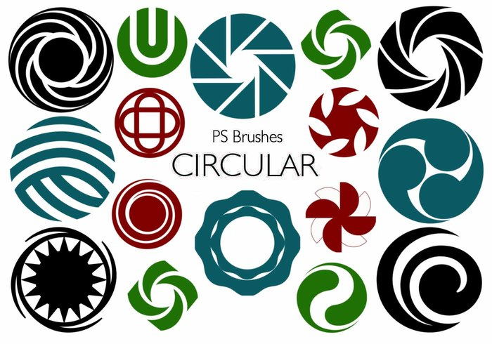 20 Circulares PS Brushes abr Vol.8