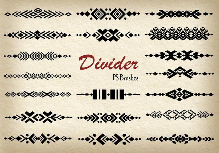 20 Divider PS Pinceles abr. Vol.9