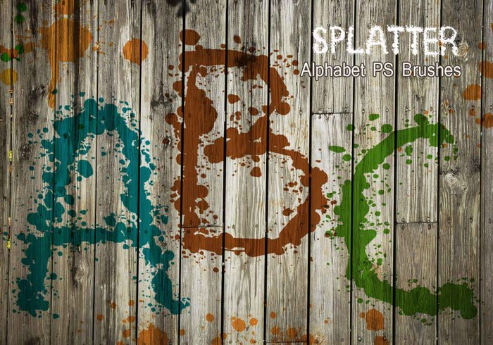 26 Alpha Splatter PS Pinceles abr vol.7