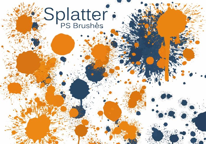 20 Kleur Splatter PS Borstels abr vol.7