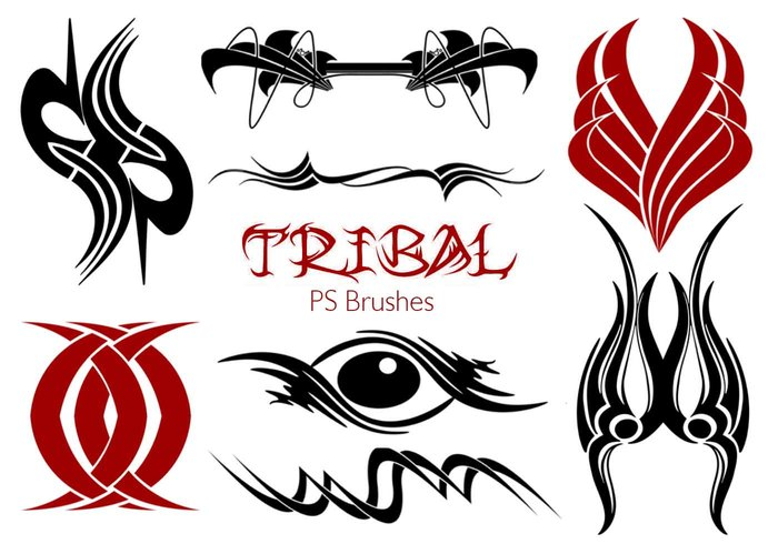 20 Tribal PS Borstels Vol.20
