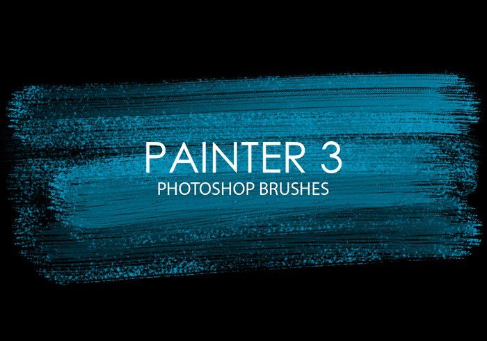 Free Painter Photoshop Brushes 3