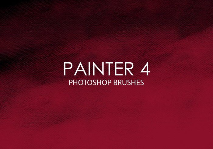Free Painter Photoshop Brushes 4