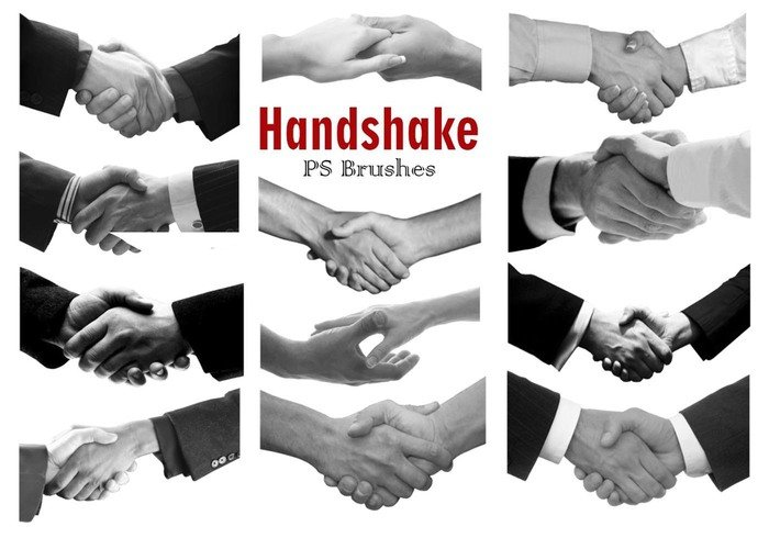 20 Handshake PS Brushes abr Vol. 3