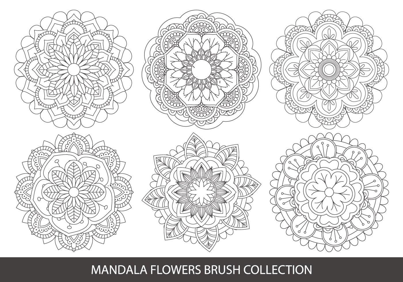 Mandala Shapes Free Brushes