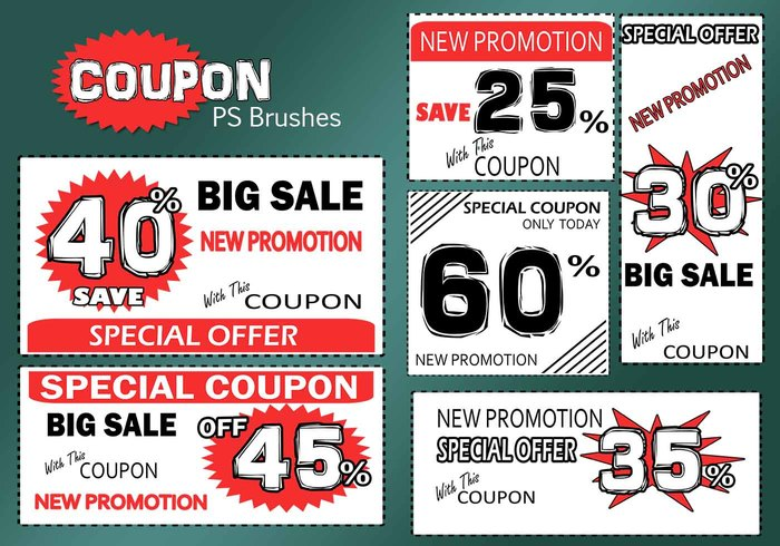 20 coupons ps brosses abr. Vol.5