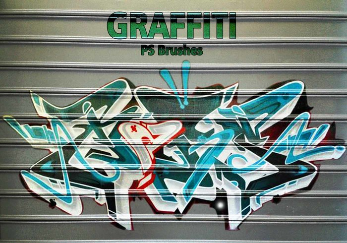 20 Graffiti PS Brushes abr. Vol.11
