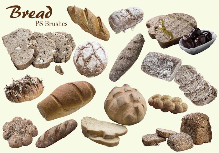 20 Bread PS Brushes.abr Vol.5
