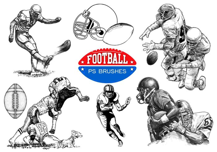 20 Football Ps Brushes abr. vol 7