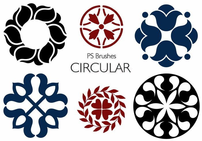 20 Circulares PS Pinceles abr. Vol.9
